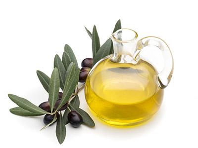 Ampolla contenente olio extraverfine d'oliva