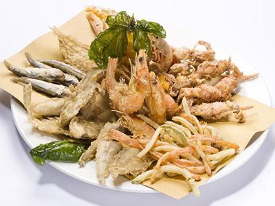 Gran fritto misto di pesce